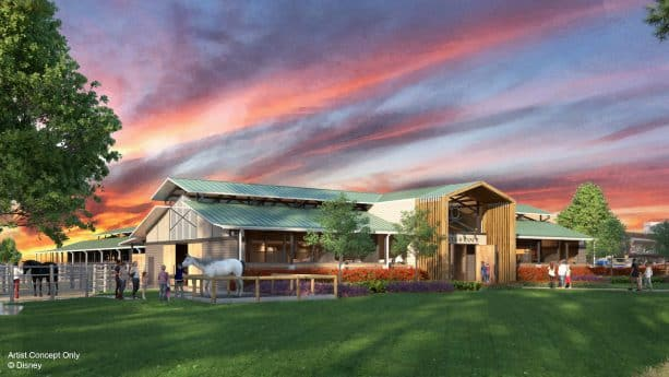 Whoa! Horses at Disney's Fort Wilderness Resort & Campground To Receive Beautiful New Barn