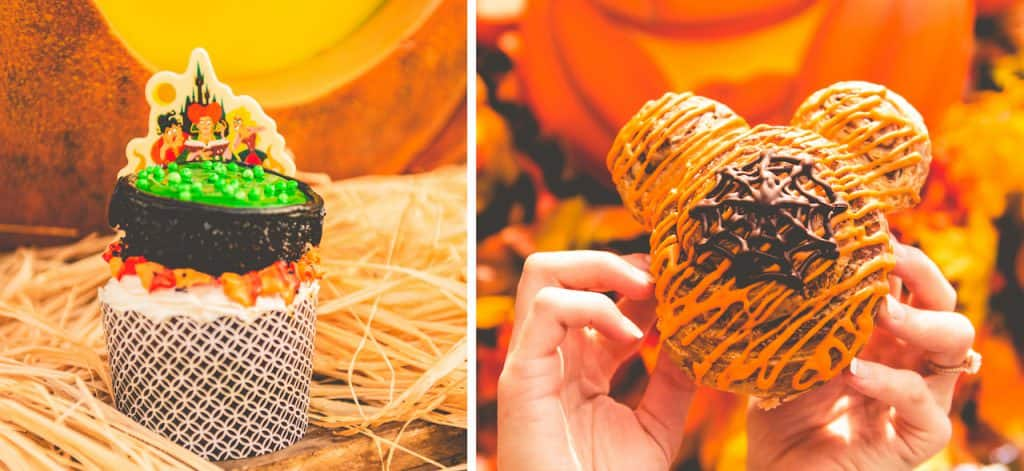 Main Street Bakery Offerings for Mickey's Not-So-Scary Halloween Party at Magic Kingdom Park