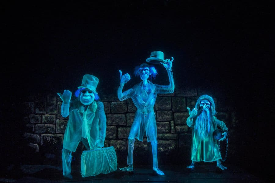 Hitchhiking ghosts in the Haunted Mansion
