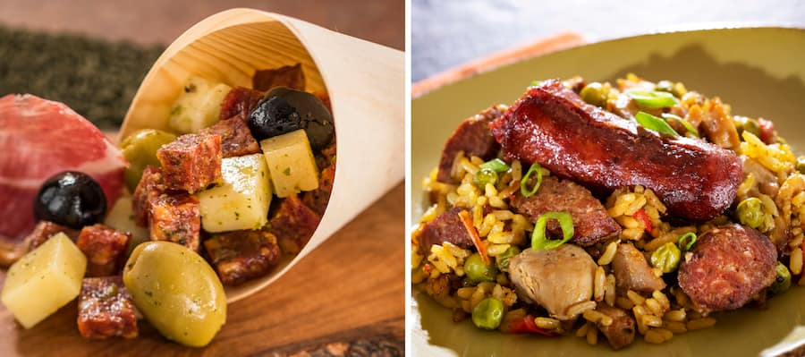 Offerings from the Spain Marketplace for the 2019 Epcot International Food & Wine Festival