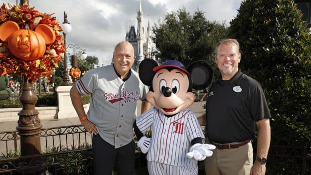 Cal Ripken Jr. with Mickey Mouse