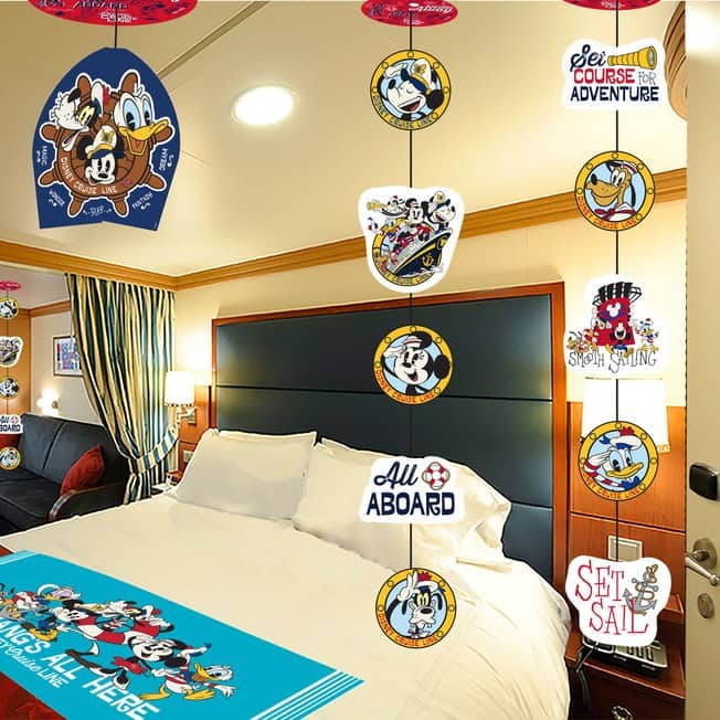Bon Voyage Nautical Decor from Disney Cruise Line