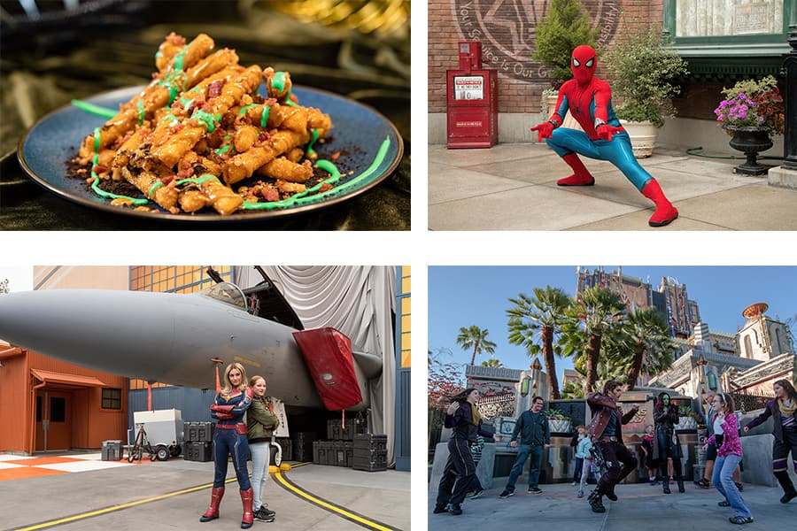 80 years of Super Heroes at Disney California Adventure Park