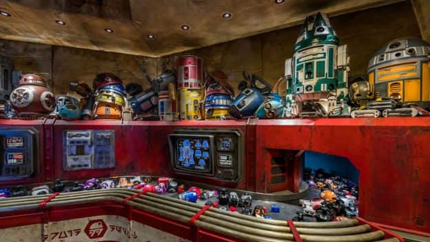 Droid Depot in Star Wars: Galaxy's Edge