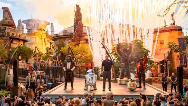 Dedication Ceremony for Star Wars: Galaxy's Edge at Disney's Hollywood Studios
