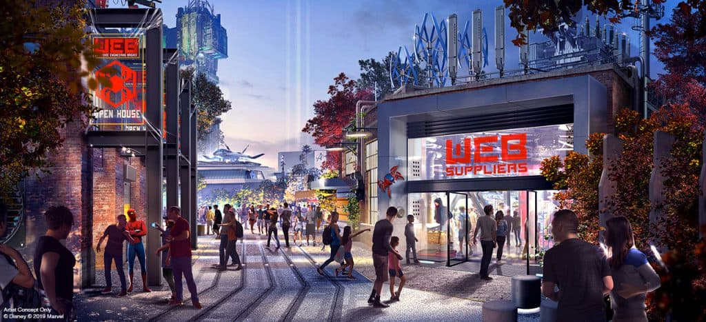 "CONFIRMED: More Concept Art Revealed for ""Avengers Campus"";..."