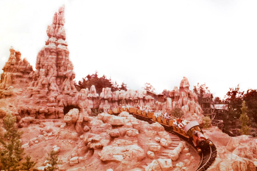 Big Thunder Railroad at Disneyland park