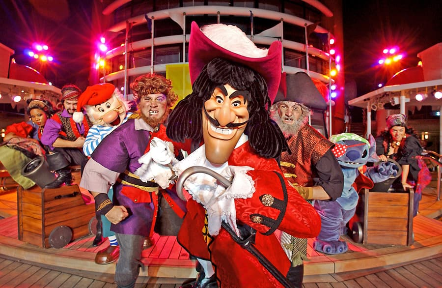 Pirate Night Disney Cruise