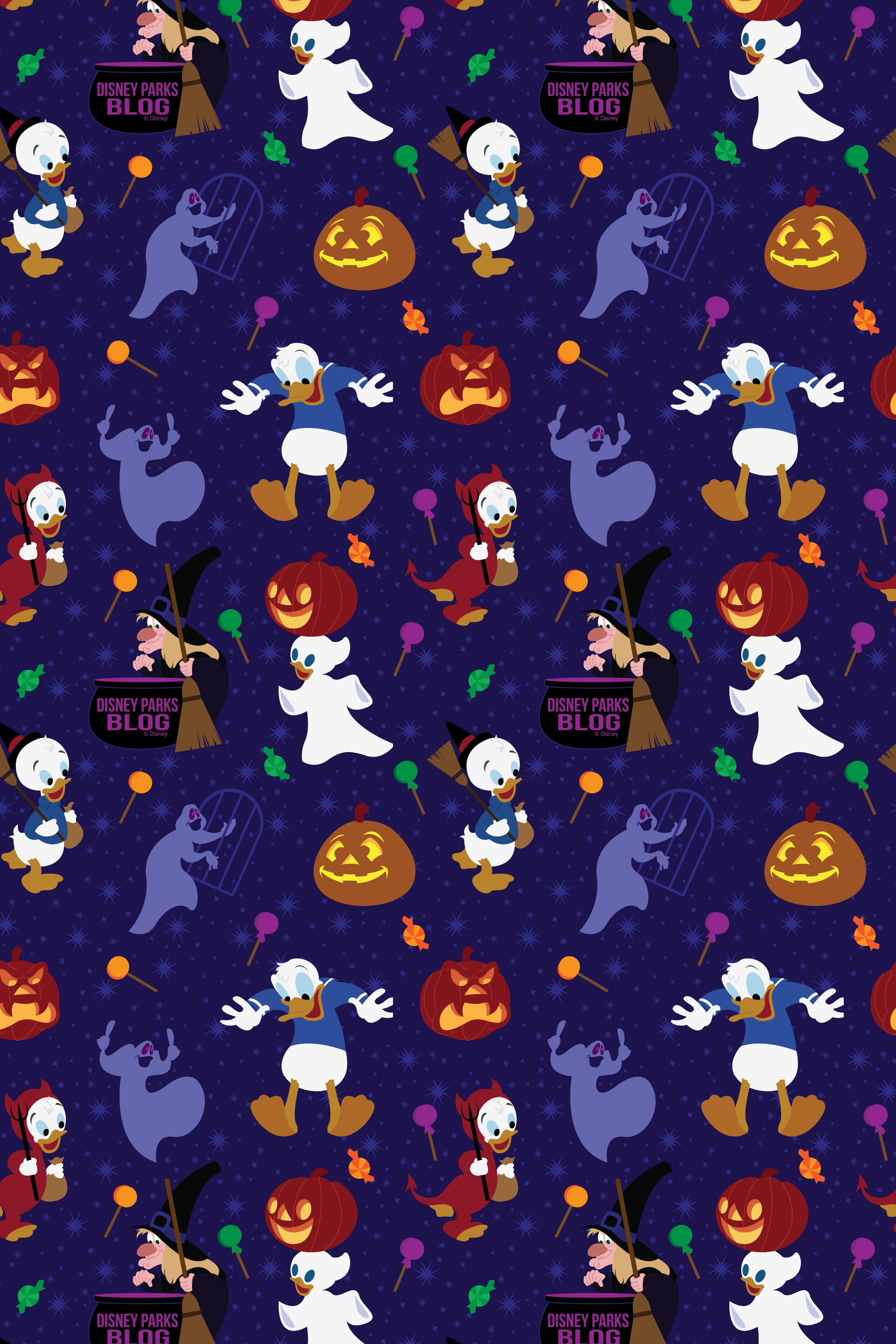 2019 Donald Duck Halloween Wallpaper Iphone Android Disney Parks Blog