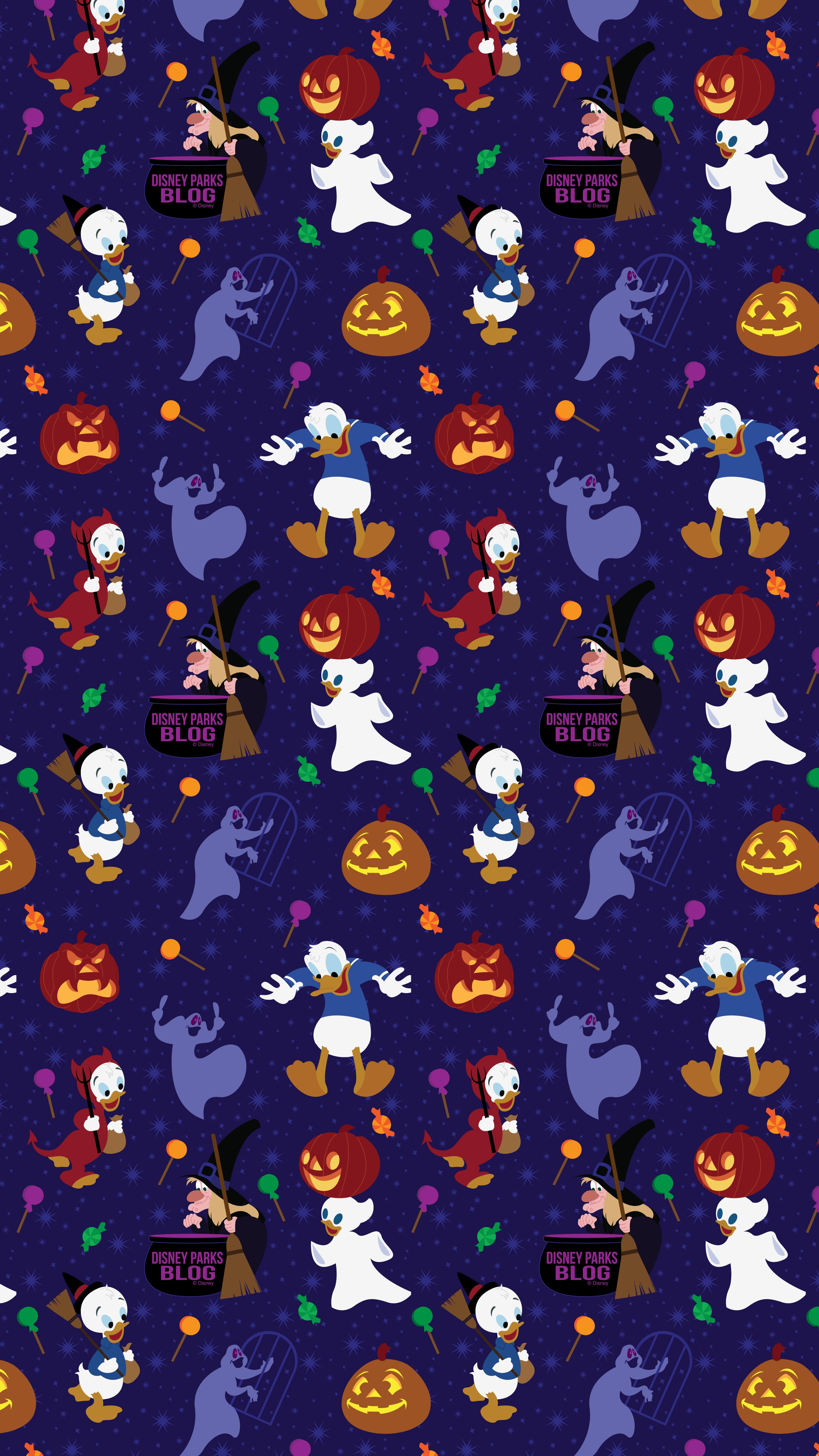 2019 Donald Duck Halloween Wallpaper Iphone Android Disney Parks Blog
