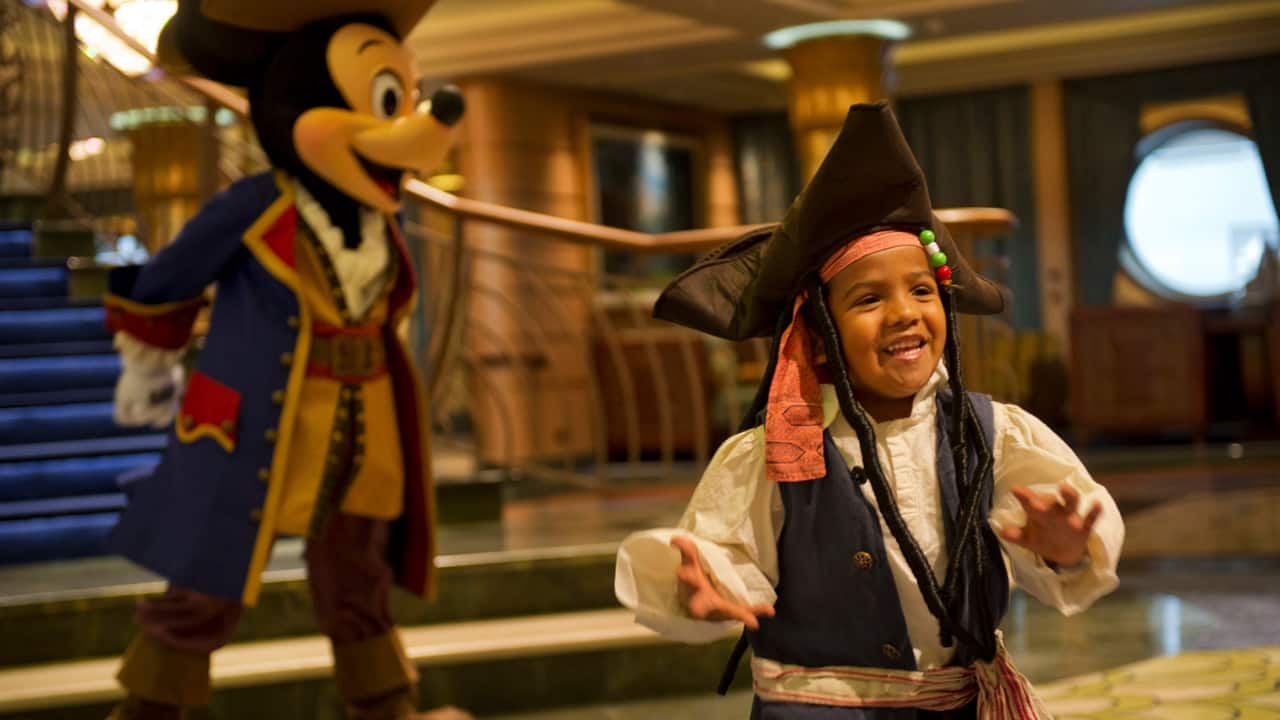 Prepping for Pirate Night on a Disney Cruise