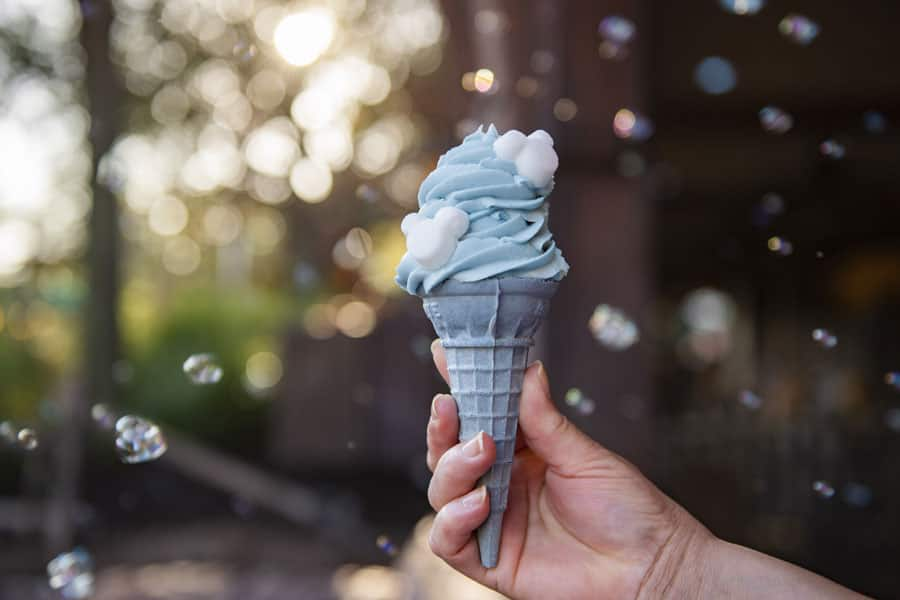 Arendelle Aqua Cone from Storybook Treats at Magic Kingdom Park