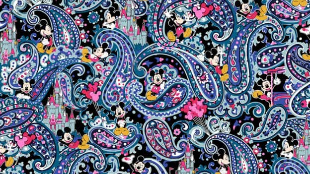 Disney + Vera Bradley Collection Pattern