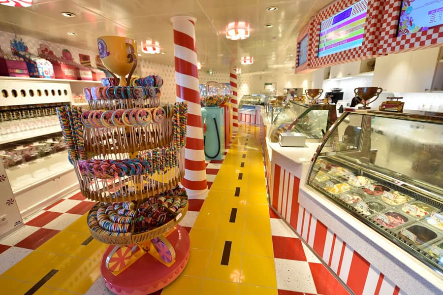 Vanellope's Sweets and Treats aboard the Disney Dream
