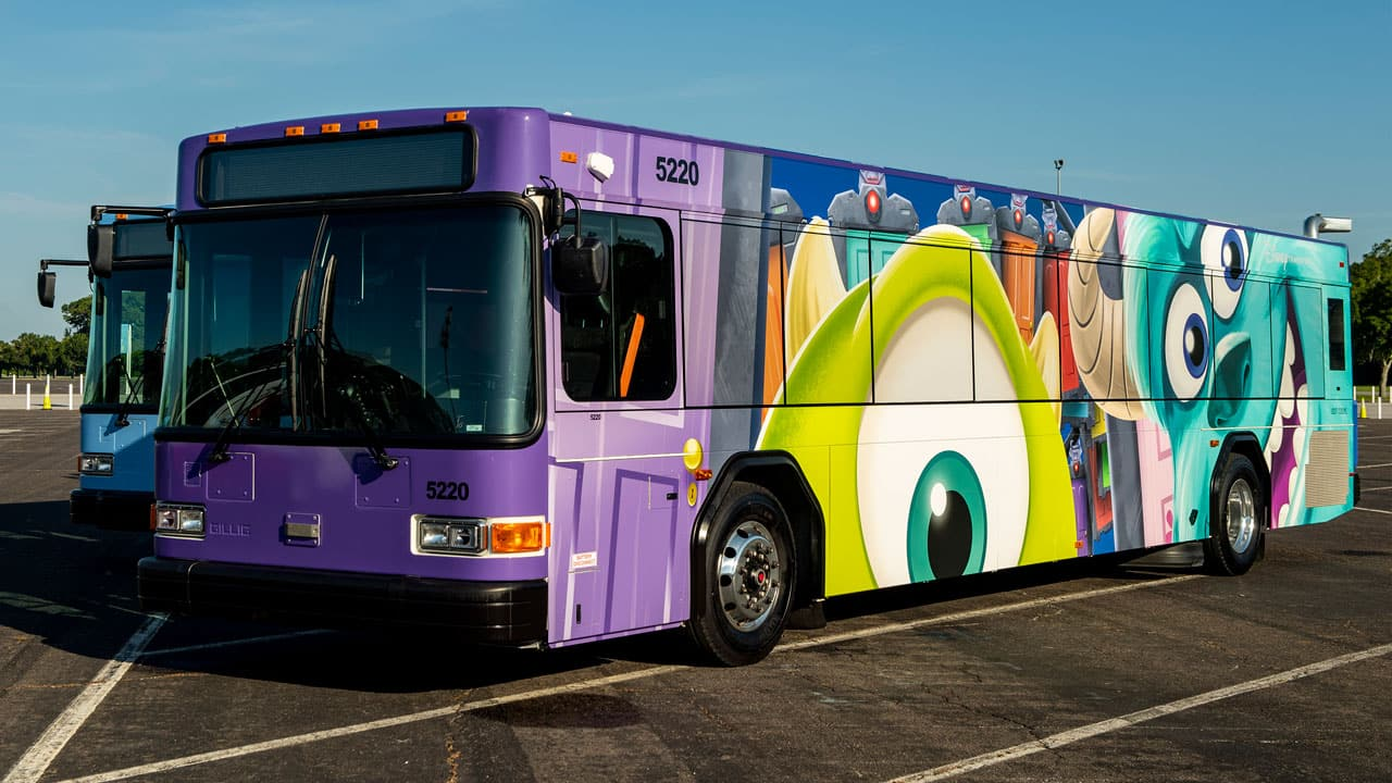 Buses Featuring Even More Character Join Disney Transportation Disney Parks Blog