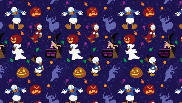 Celebrate Fall Early With Our Donald, Huey, Dewey and Louie Trick-or-Treat Wallpaper