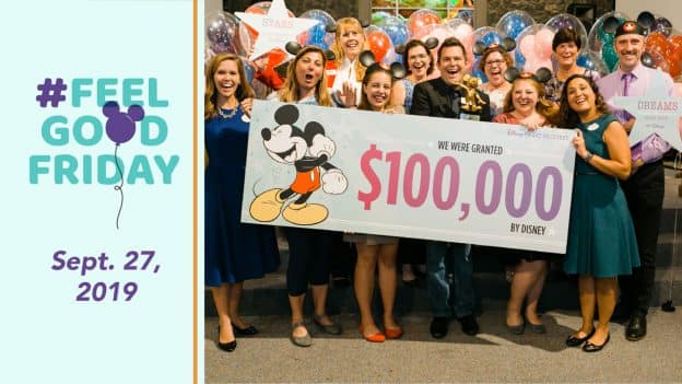 Feel Good Friday: Sept. 27, 2019 - Disney Serenades Central Florida Community Arts with Surprise $100,000 Donation to Help Bring Arts Program to Deserving Youth