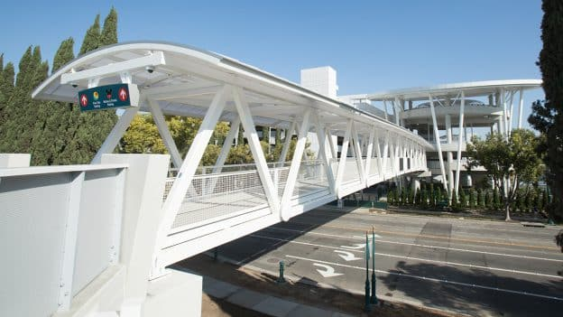 New Pedestrian Bridge at Disneyland Resort