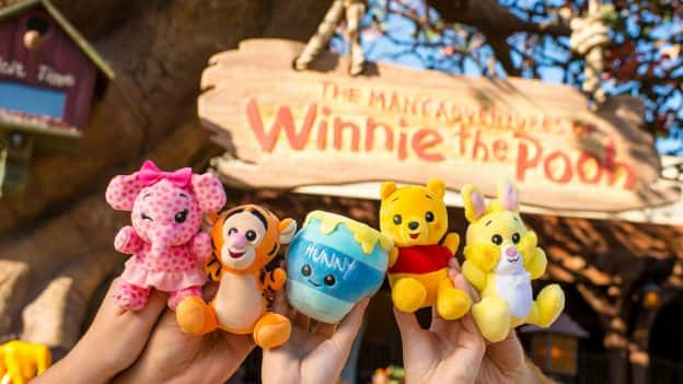 Winnie the Pooh Wishables Collection