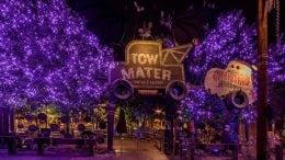 Mater's Graveyard JamBOOree at Disney California Adventure park