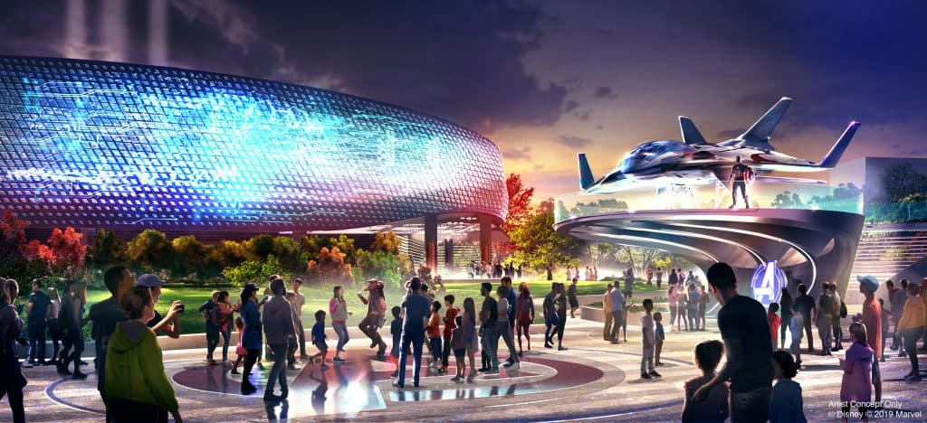 Avengers Campus at Disneyland Paris