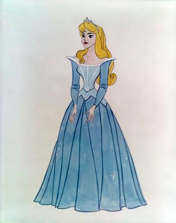 In animation, the costume is typically not a separate task by a specialized costume designer, but is an integral part of the overall character development. Courtesy Walt Disney Animation Research Library. © Disney