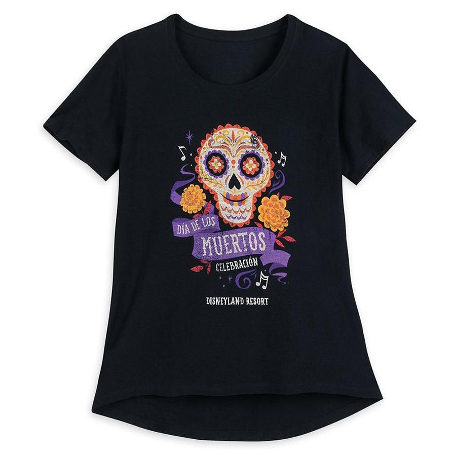 Dias de los Muertos T--Shirt -- Disneyland Resort