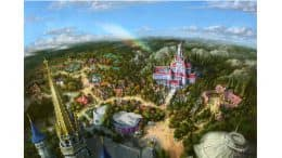 Rendering of New Experiences Coming to Tokyo Disneyland Spring of 2020