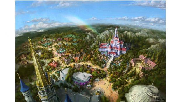 Rendering of New Experiences Coming to Tokyo Disneyland Spring of 2020