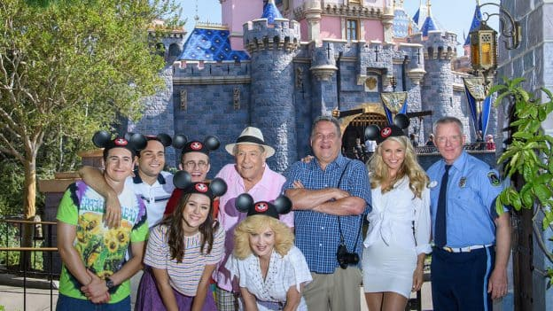 ABC's 'The Goldbergs' at Disneyland Park