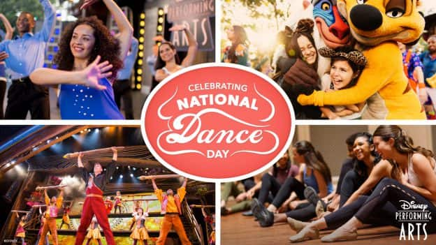 Celebrate National Dance Day with Disney!