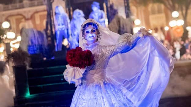 Bride in 'Mickey's Boo-To-You Halloween Parade'