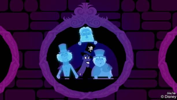 Disney Doodle: Dr. Facilier Makes 'Friends on the Other Side' at The Haunted Mansion