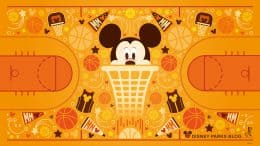 Basketball Mickey wallpaper