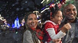 Guests enjoying Mickey's Very Merry Christmas Party
