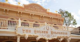 The Golden Horseshoe at Disneyland Park