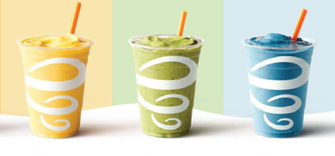 Juices from Jamba Juice at the Disneyland Resort