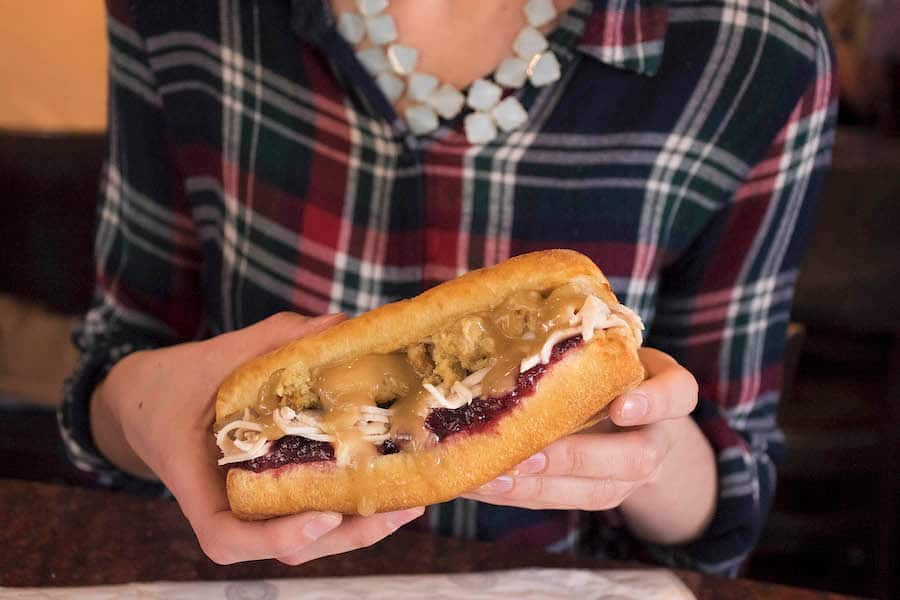 Holiday Turkey Sandwich from Earl of Sandwich for WonderFall Flavors at Disney Springs 2019