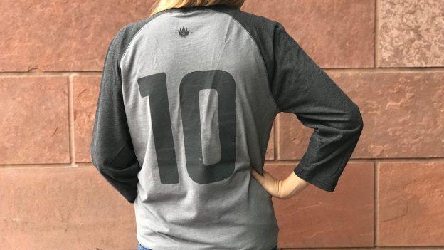 Disney Parks Blog with 10th Anniversary Baseball T-Shirt
