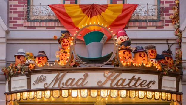 The Mad Hatter at Disneyland Park