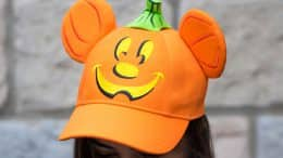 Mickey Pumpkin Hat