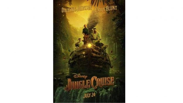 'Jungle Cruise' movie poster