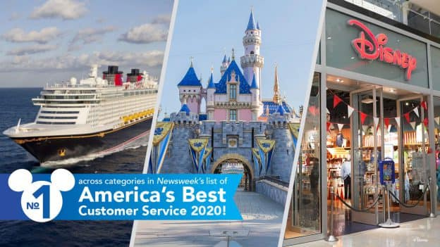 Disney Cruise Line, Disney Parks & Resorts and the Disney Store:No 1 across categories in Newsweek's list of America's Best Customer Service 2020