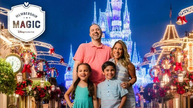 Family of four, Disney Vacation Club