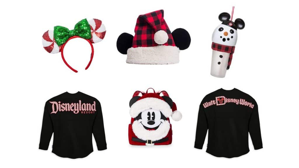 New Holiday merchandise offerings at Walt Disney World and Disneyland Resorts
