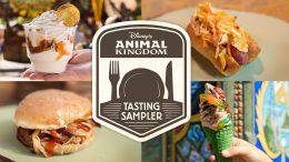 Disney's Animal Kingdom Tasting Sampler Winter 2019