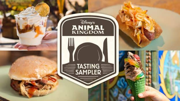 Disney's Animal Kingdom Tasting Sampler Winter 2019