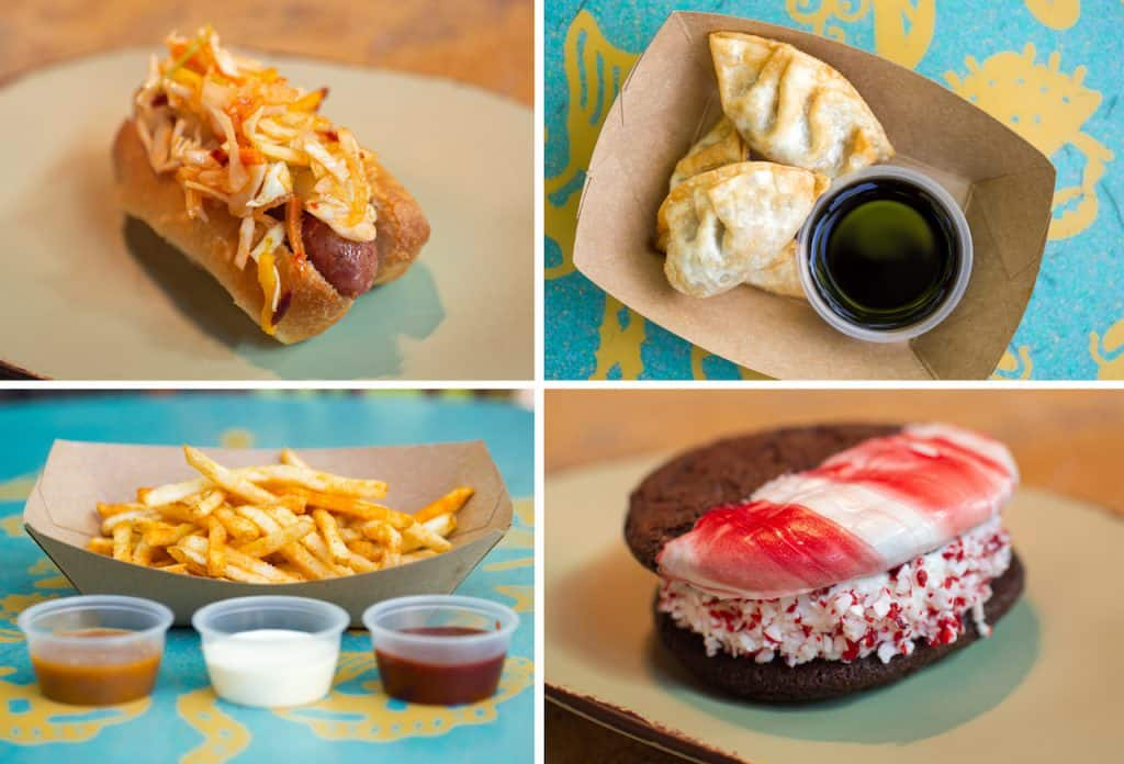 "Offerings for the Winter 2019 Disney's Animal Kingdom Tasting Sampler""]"