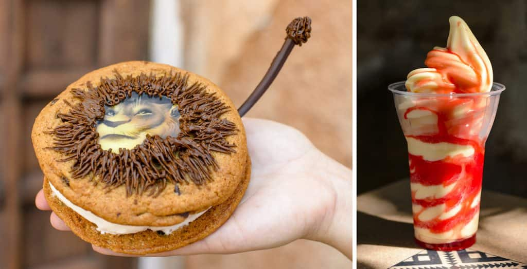 Offerings for the Winter 2019 Disney's Animal Kingdom Tasting Sampler