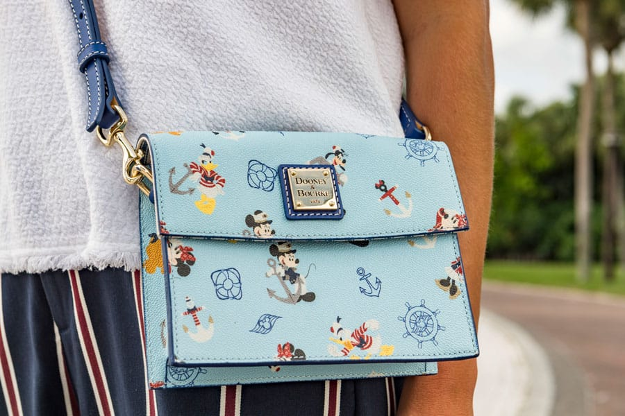 Dooney & Bourke Introduces New Nautical Collection Exclusively for Disney Cruise Line - Crossbody